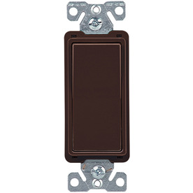 Cooper Wiring Devices 15-Amp Brown 4-Way Decorator Light Switch