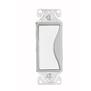 Cooper Wiring Devices 15-Amp White Satin Decorator Light Switch