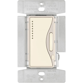 Cooper Wiring Devices Aspire 15 Amp 1000-Watt Off-White 3-Way Compatible Digital Dimmer
