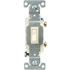 Cooper Wiring Devices 15-Amp Light Almond Light Switch