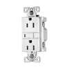 Cooper Wiring Devices 3-Pack 15-Amp White Decorator GFCI Electrical Outlet