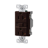 Cooper Wiring Devices 20-Amp Brown Decorator GFCI Electrical Outlet