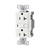 Cooper Wiring Devices 20-Amp White Decorator GFCI Electrical Outlet