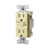 Cooper Wiring Devices 3-Pack 125-Volt 15-Amp Decorator Gfci Electrical Outlet