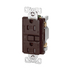 Cooper Wiring Devices 15-Amp Brown Decorator GFCI Electrical Outlet