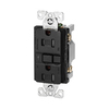 Cooper Wiring Devices 125-Volt 15-Amp Black Decorator GFCI Electrical Outlet