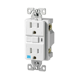 Cooper Wiring Devices on Cooper Wiring Devices 15 Amp White Decorator Gfci Electrical Outlet