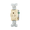 Eaton 20-Amp 125-Volt Indoor Round Wall Outlet