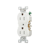 Cooper Wiring Devices 125-Volt 15 Amp White Duplex Electrical Outlet