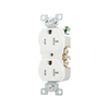 Cooper Wiring Devices 20-Amp White Duplex Electrical Outlet