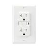 Cooper Wiring Devices 3-Pack 125-Volt 20-Amp White Decorator GFCI Electrical Outlet