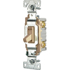 Cooper Wiring Devices 15-Amp Ivory Light Switch