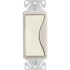 Cooper Wiring Devices 15-Amp Aspire Desert Sand Decorator Light Switch