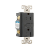 Cooper Wiring Devices 125-Volt 15-Amp Aspire Silver Granite Decorator Duplex Electrical Outlet