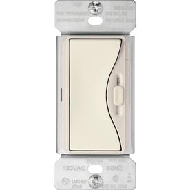 Cooper Wiring Devices Aspire 15 Amp 600-Watt Off-White 3-Way Compatible Slide Dimmer