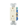 Cooper Wiring Devices 125-Volt 15-Amp Decorator Duplex Electrical Outlet