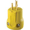Cooper Wiring Devices 15-Amp 125-Volt Yellow 3-Wire Grounding Plug