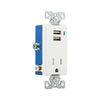 Cooper Wiring Devices White Single Wall Plate