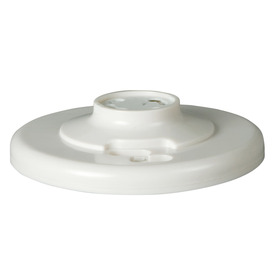 Eaton 660-Watt White Hard-Wired Ceiling Socket