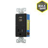 Eaton 15-Amp 125-Volt Indoor Decorator Wall Outlet/USB