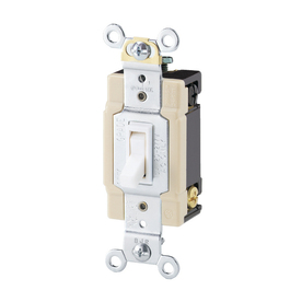 Cooper Wiring Devices 15-Amp White 4-Way Light Switch