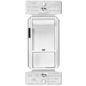 Eaton 1-Switch 600-Watt 3-Way Single Pole White Indoor Rocker Dimmer