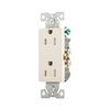 Eaton 125-Volt 15-Amp Aspire Decorator Duplex Electrical Outlet
