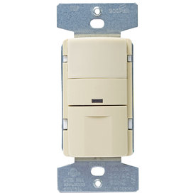 Eaton 1-Switch 600-Watt 3-Way Single Pole Ivory Indoor Push Occupancy Sensor