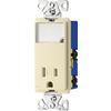 Eaton 15-Amp 125-Volt Indoor Decorator Wall Outlet