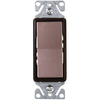 Cooper Wiring Devices 15-Amp Single Pole Decorator Light Switch