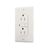 Cooper Wiring Devices 120/125-Volt 15 Amp White Decorator Duplex Electrical Outlet