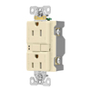 Cooper Wiring Devices 3-Pack 15-Amp 125-Volt Almond Indoor GFCI Decorator Wall Outlets