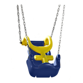 Swing-N-Slide Adaptive Blue and Yellow Swing Seat NE 1540