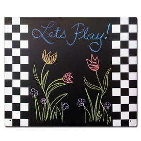 Swing-N-Slide Black Chalkboard