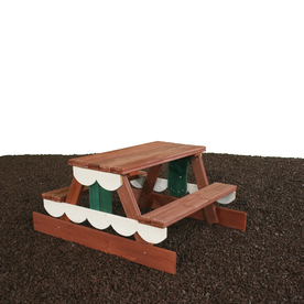 Swing-N-Slide Residential Wood Playset Picnic Table