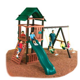Swing-N-Slide Cimarron Residential Wood Playset