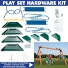 Swing-N-Slide Scout DIY Kit Wood Playset with Swings