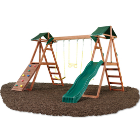 free swingset blueprints using a lowes type fort