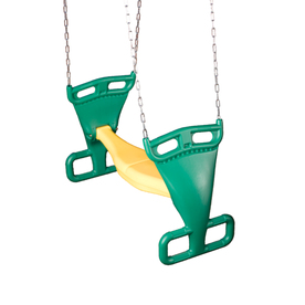 Swing-N-Slide 2 for Fun Green and Yellow Glider