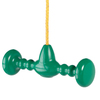 Swing-N-Slide Whirl and Twirl Green Spinner