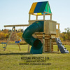 Swing-N-Slide Kodiak Kit (No Wood Included) Residential Wood Playset