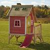 Swing-N-Slide Wood Hide-N-Slide Playhouse Kit