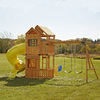 Swing-N-Slide Lakewood Ready-to-Assemble Residential Wood Playset with Swings