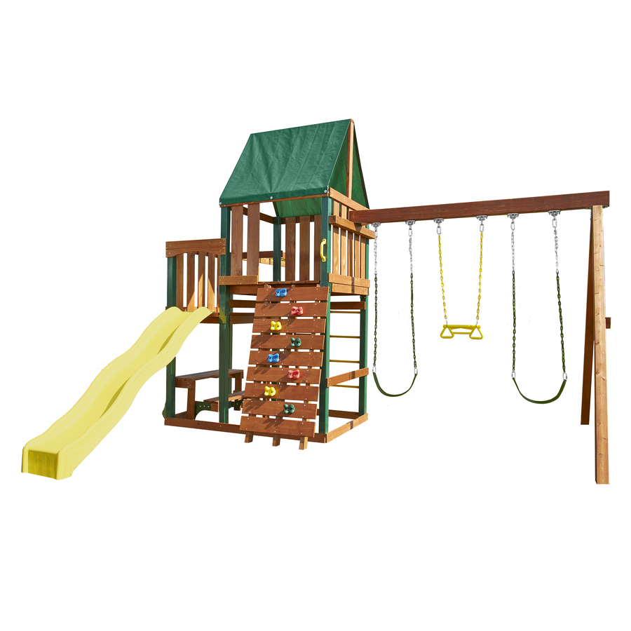 how to build a swing set with monkey bars