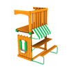 Swing-N-Slide Grand Terrace Residential Wood Playset Balcony/Terrace