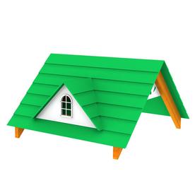 Swing-N-Slide Residential Wood Playset Wood Roof