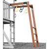 Swing-N-Slide 4 Ring Circus Residential Wood Playset Climbing Wall