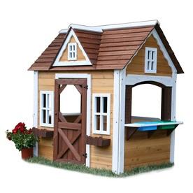 Swing-N-Slide Wood Playhouse Kit