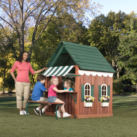 Swing-N-Slide Wood Playhouse Kit
