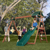 Swing-N-Slide McKinley Ready-to-Assemble Kit Residential Wood Playset with Swings